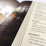 chelsea brochure design